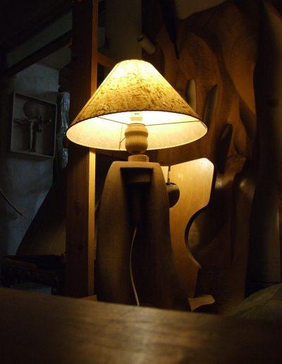 Lampa tvar.
