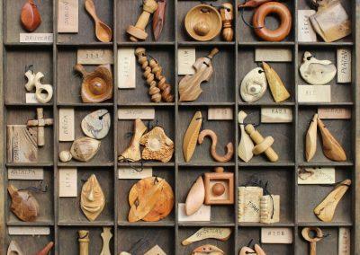 Vzorník dřev i šperků